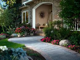 front entrance landscape design and hardscape by lee s oriental