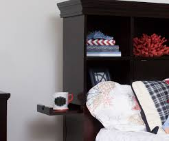 Bedroom Furniture Espresso Finish Craft Furniture Boston Twin Size Bookcase Bed In Espresso Finish