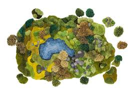 Moss Rug This Woman U0027s Landscape Carpets Are Beyond Amazing