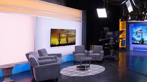 tv interview set design park place studio