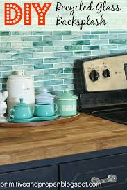 recycled glass backsplashes for kitchens diy recycled glass backsplash with the tile shop diy recycle
