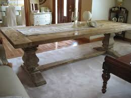 trestle 72 reclaimed wood rectangular dining table rh salvaged wood trestle rectangular extension dining table