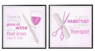 salon posters and other ideas for your beauty salon décor