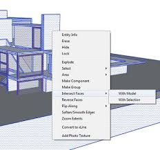 tutorial sketchup autocad sketchup section cut or floor plan to autocad