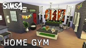 the sims 4 room design home gym youtube