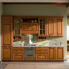 alcali cuisine module de cuisine en bois de teck solide moderne de peinture gsp5