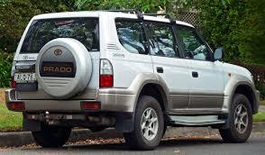 toyota jeep white file 2002 toyota land cruiser prado vzj95r gxl 5 door wagon