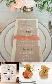 wedding table place card ideas creative wedding menus the best creative wedding menu ideas yes