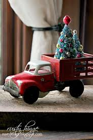 Christmas Vehicle Decorations 479 Best Red Christmas Trucks Images On Pinterest Red Christmas