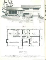 modern home plans 1955 vintage house plans 1950s pinterest