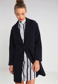 selected femme selected femme women coats sfmisto classic coat navy