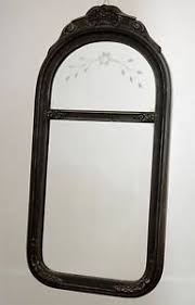 carved wood framed wall original ww1 era antique carved wood framed wall mirror