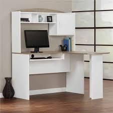 amazon com mainstays 9324056pcom l shaped desk with hutch white