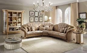 Corner Sofa Wood Corner Sofa Classic Style Texture Of Fine Wood Fabric Covering