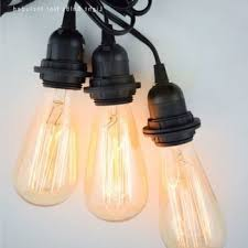 triple light bulb socket triple socket pendant light cord kit for lanterns 19ft black