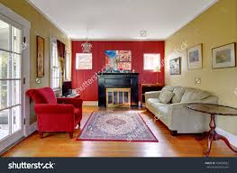 amazing red and yellow living room decoration ideas collection