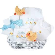 Baby Shower Baskets Baby Shower Gift Basket Idea