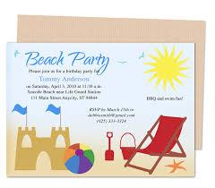 beach party invitation template u2013 orderecigsjuice info