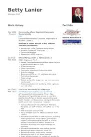 Examples Of Business Resumes Administrative Resume Samples Visualcv Resume Samples Database
