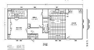 Mobile Home Floor Plans Single Wide 29 Single Wide Mobile Home Floor Plans And Pictures Ideas Uber