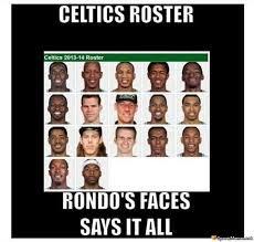 Boston Meme - boston celtics roster meme