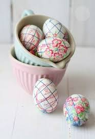 Hanging Easter Egg Decorations Uk by Dotcomgiftshop 10 Hand Painted Hanging Easter Eggs Decorations In