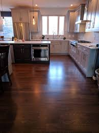 stained kitchen cabinets with hardwood floors and medium brown stained white oak floors magnus