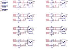 big segment clock with atmega8 youtube wiring diagram components