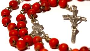 rosary from the vatican vatican rosary pans stock footage 1414897