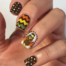 18 turkey nail designs ideas 2016 thanksgiving nails
