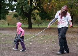 Zombie Hunter Halloween Costume 33 Adorable Father Daughter Halloween Costumes