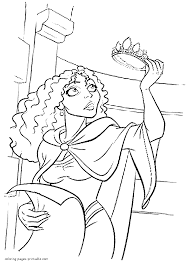disney villains coloring pages for kids with villains coloring