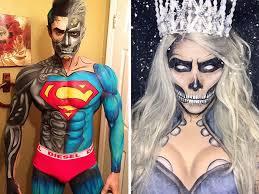 makeup artist makeup artist transforms himself into superheroes using nothing