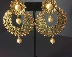 gujarati earrings gujarati earrings etsy