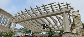 Pergola With Fabric by Fiberglass Pergolas Strong Durable Custom Fiberglass Pergolas