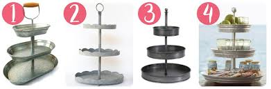 galvanized cake stand where to find the best 3 tier galvanized stand s