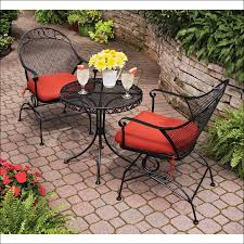 Black Bistro Table And Chairs Kitchen Large Kitchen Table Wrought Iron Chaise Wrought Iron