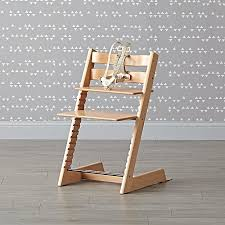 natural tripp trapp chair from stokke the land of nod