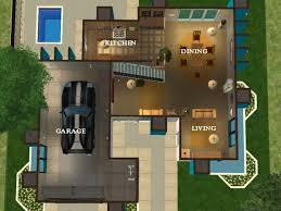 modern home layouts mod the sims the maverick home a modern home