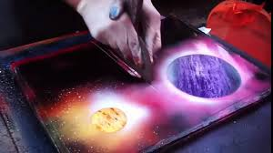 Spray Paint Artist - amazing spray painting by street artist new york city video