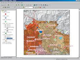 State Plane Coordinate System Map by Fire Mapping With Arcgis Xtools Pro