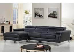 lolet canapé canapé d angle cuir reconstitué pvc 4 places angle