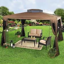Backyards With Gazebos by 10 Relaxing And Comfortable Outdoor Canopy Designs Rilane