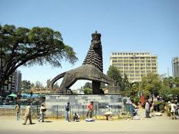 lion of judah statue the lion of judah statue in addis ababa picture of simien image