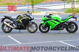 cdr bike price in india honda cbr300r abs vs kawasaki ninja 300 abs shootout