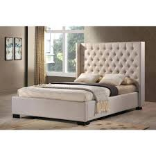 King Bed Frame Upholstered Upholstered King Bed Inspiringtechquotes Info