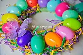 b is 4 diy easter egg spring wreath