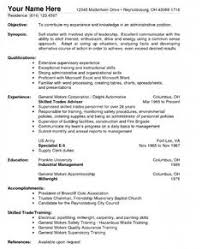 Resume For A Warehouse Job by Assembly Line Worker Resume Sample Resume Free Sample Resume
