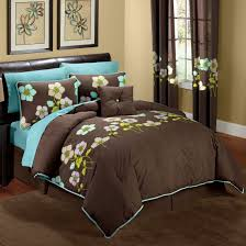 aqua bedroom ideas for guest using brown and aqua bedroom ideas