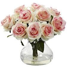 faux floral arrangements amazon com